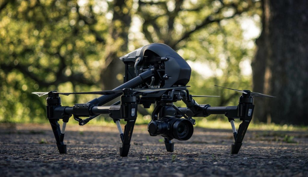dji inspire drone aerial